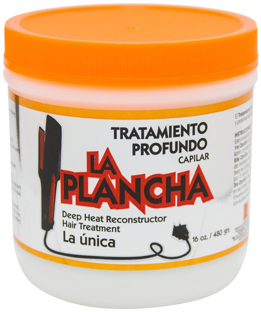 Made in the Dominican Republic, La Plancha Thermal Protection Hair Treatment ($15) restores hair that's been harmed by hot tools.
