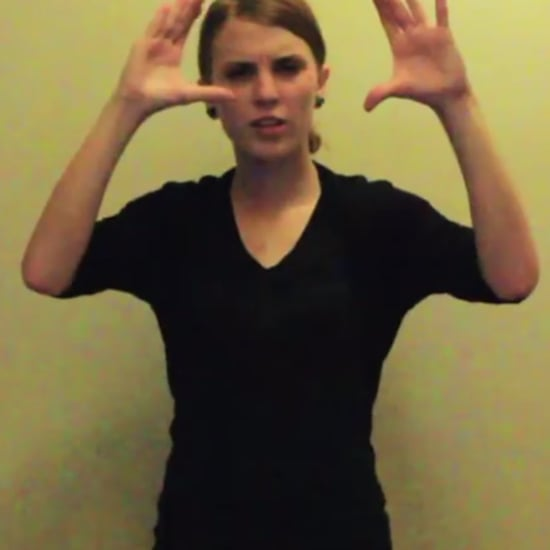 "Sign-Language Interpretation of Eminem's ""Lose Yourself"""