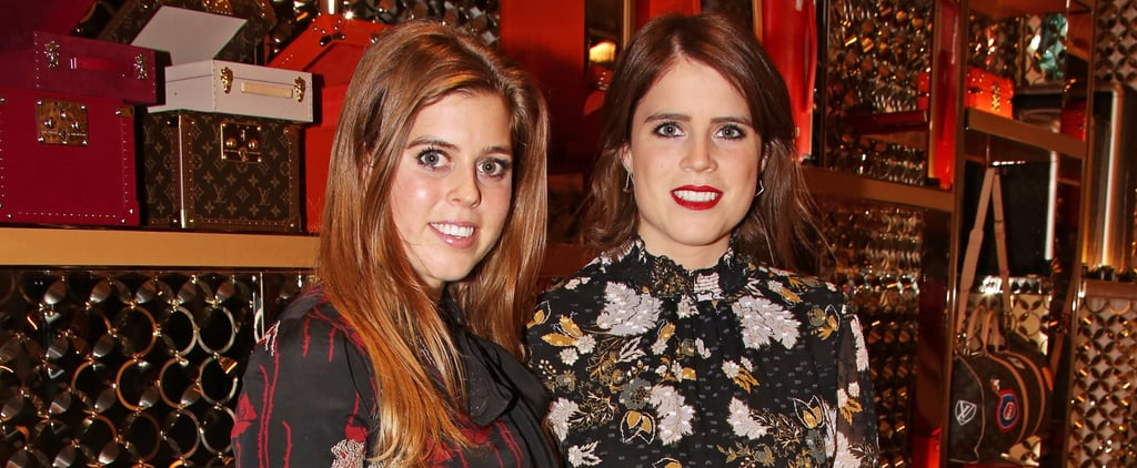 Princesses Beatrice and Eugenie at Louis Vuitton Party