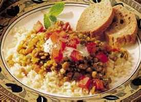 Today's Special: Indian Lentils and Rice