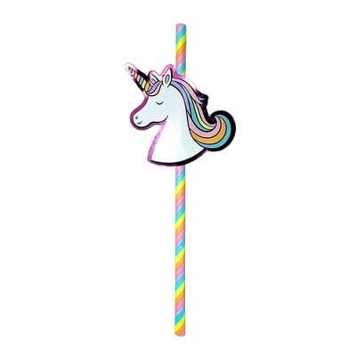 Unicorn Straws 20 Count