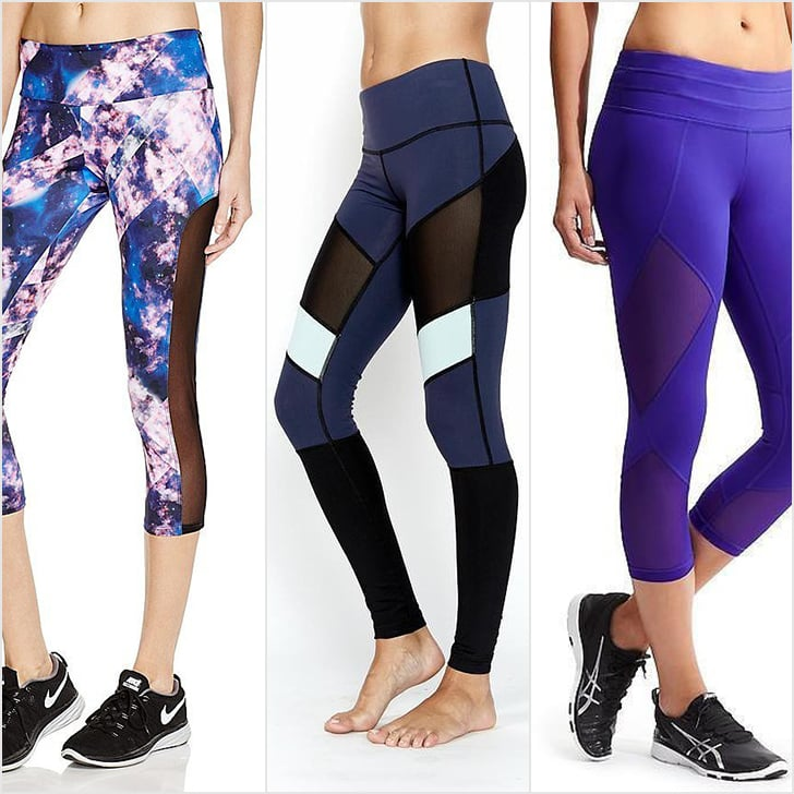 Mesh Workout Pants | POPSUGAR Fitness