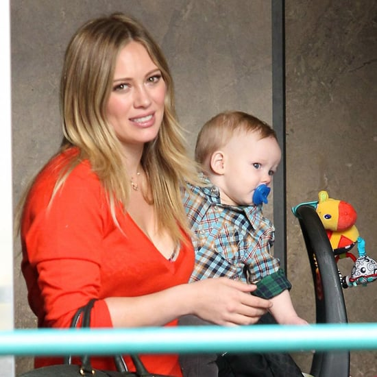 Hilary Duff Shopping With Luca Comrie in LA | Pictures