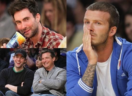 24/11/2008 David Beckham, Jason Bateman, Adam Levine,