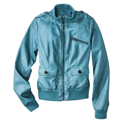 The best thing about this Xhilaration Bomber Jacket ($40) isn't just the price — the pretty blue hue makes it a worthwhile wear well into the Spring.