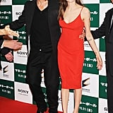 Brad Pitt and Angelina Jolie found their mark on the red carpet.