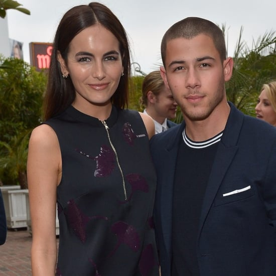 Camilla Belle and Nick Jonas at Topman Party May 2016