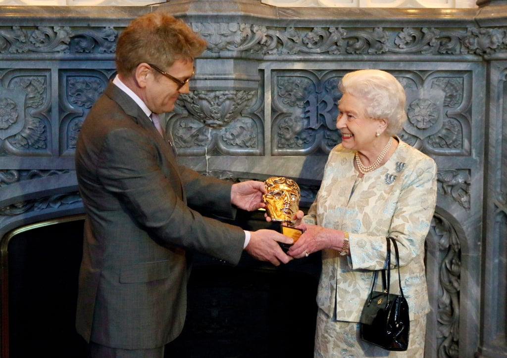 The Queen and Sir Kenneth Branagh