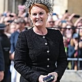 Sarah Ferguson at Ellie Goulding's Wedding