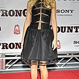 A cutout Chado Ralph Rucci dress for the Country Strong premiere in Nashville in 2010.