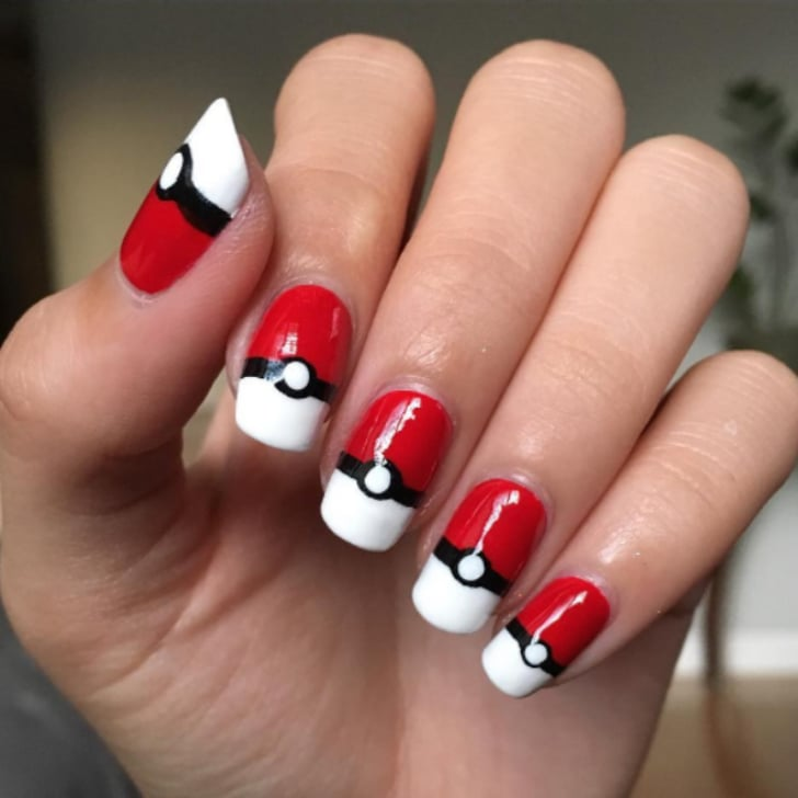 Pokemon Nail Art Ideas | POPSUGAR Beauty