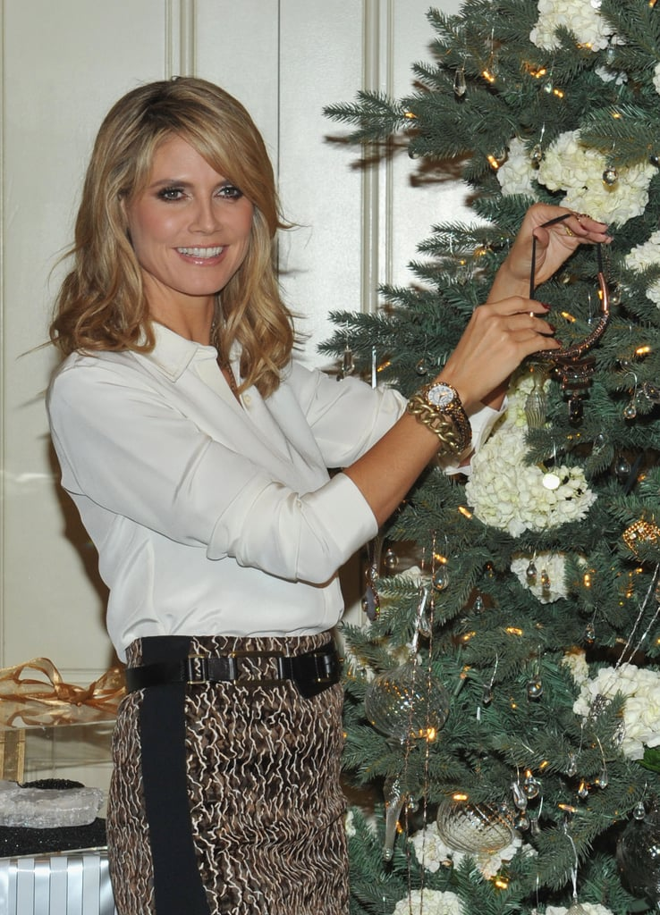 Heidi Klum stopped by the Four Seasons for the event.