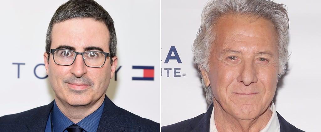 "John Oliver Slams Dustin Hoffman on Sexual Harassment Because ""No One Stands Up to Powerful Men"""