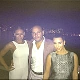 Mel B and her husband Stephen hung out with Kim Kardashian in Sydney. Source: Instagram user kimkardashian