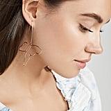 BaubleBar Delicate Butterfly Drop Earrings