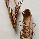 Miss Albright Curricula Cutout Oxfords Bronze 7 Oxfords ($188)