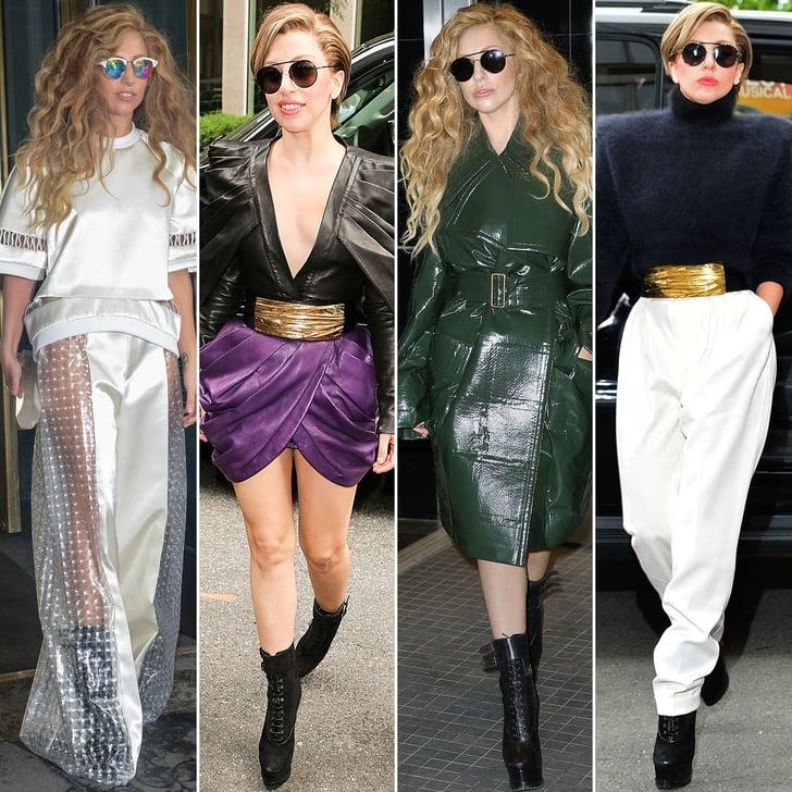 Lady Gaga Applause Promo Looks | POPSUGAR Fashion Lady Gaga Applause Promo