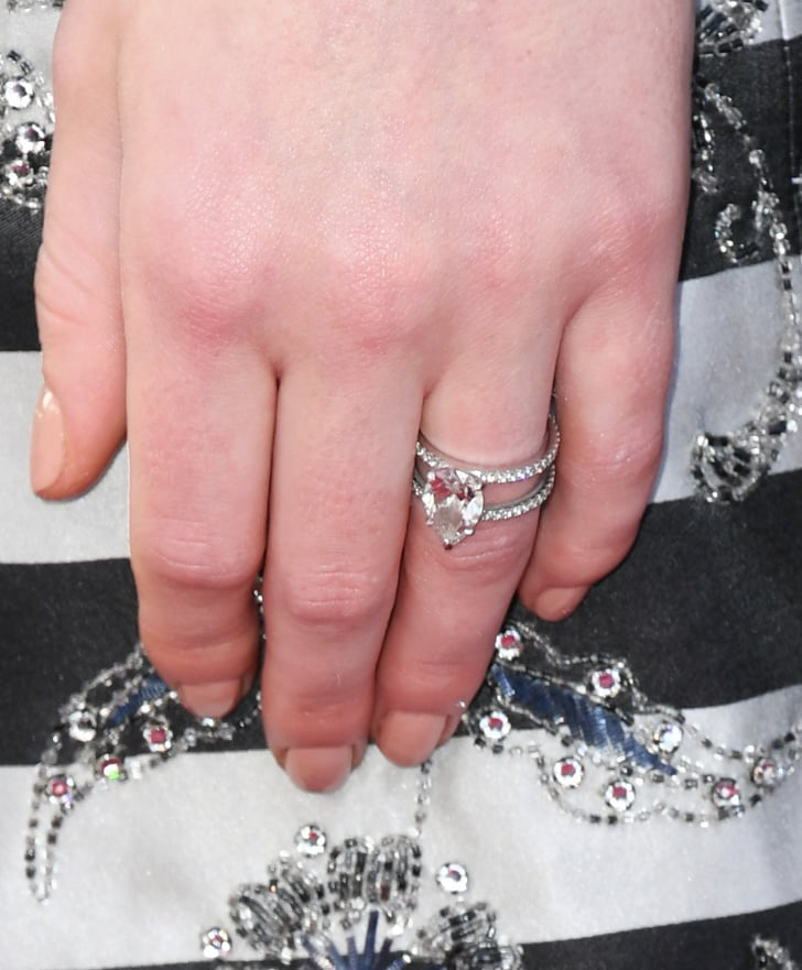 Hairstyle For Brothers Wedding: Sophie Turner's Engagement Ring