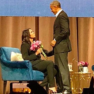 Barack Obama Surprising Michelle on Her Becoming Book Tour