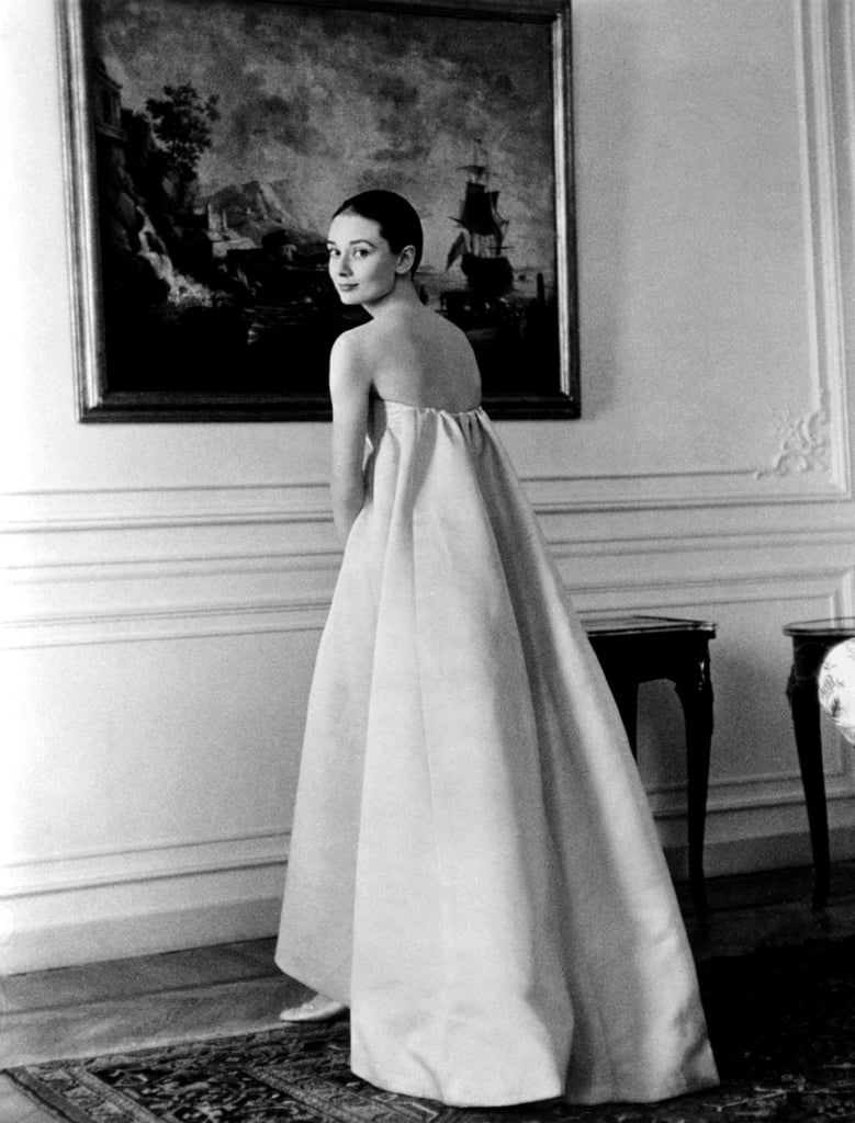 Audrey Hepburn Wearing Givenchy Popsugar Fashion Uk