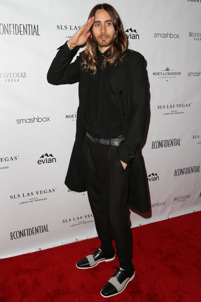 Jared Leto at Los Angeles Confidential's Oscars Bash