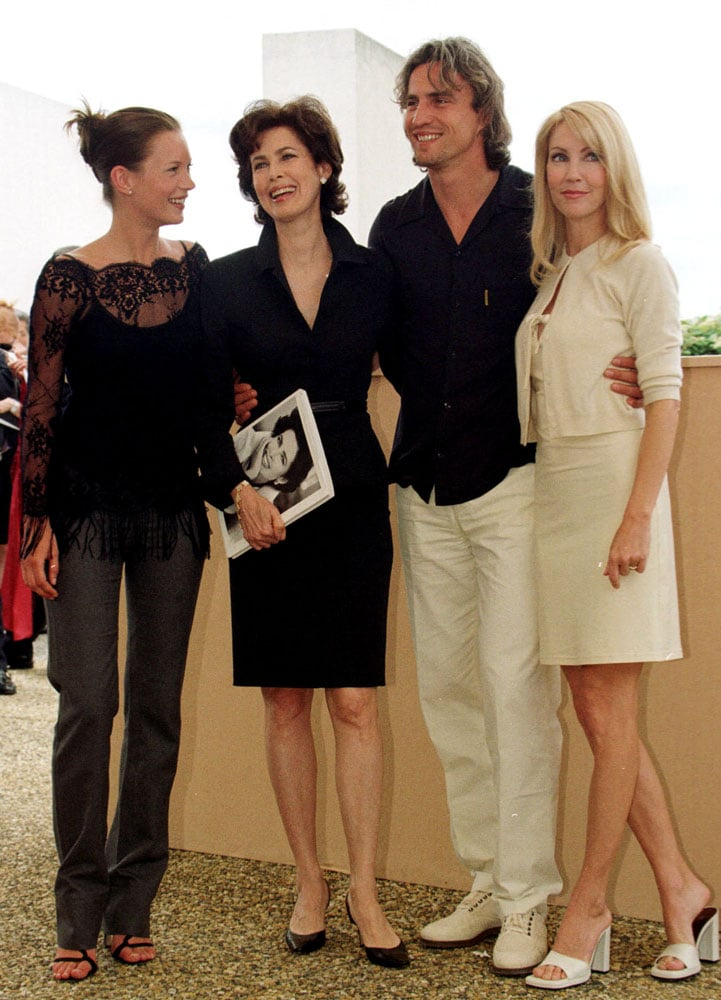 Kate swung through Cannes in May of 1999 with other L'Oréal models like Heather Locklear and David Ginola.