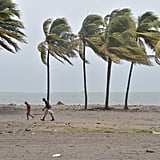 Hurricane Irma's maximum sustained winds are still at 180 miles per hour, which can be seen here in Haiti on Sept. 7.