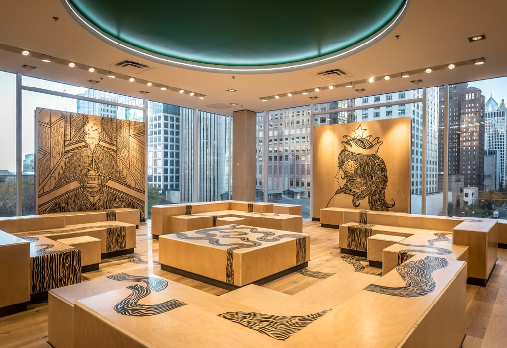 Chicago Magnificent Mile Burberry Store Editorial ... |Beautiful Storefronts Chicago