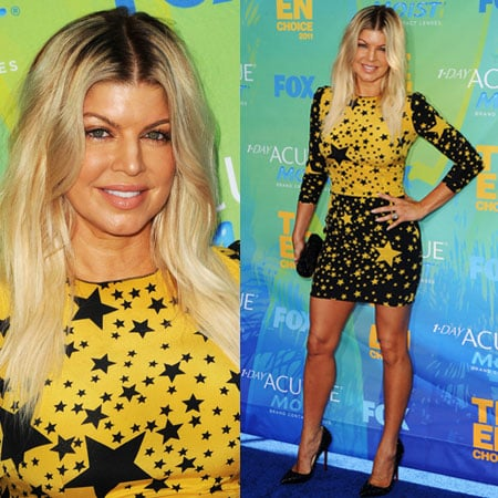 Fergie Wears Dolce and Gabbana at 2011 Teen Choice Awards 2011-08-07 17:20:27