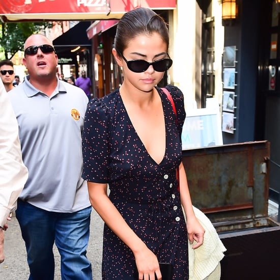 Selena Gomez Wearing Rouje Paris