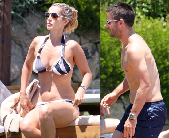 Pictures of Louise and Jamie Redknapp