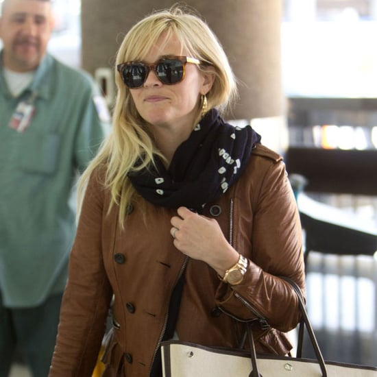 Reese Witherspoon Pregnant Pictures at LAX