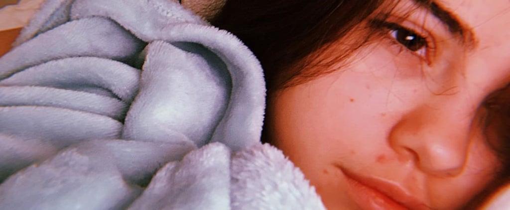 Selena Gomez Posts Makeup Free Selfie on Instagram
