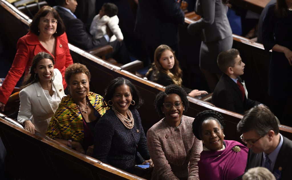 Women Being Sworn In to Congress January 2019