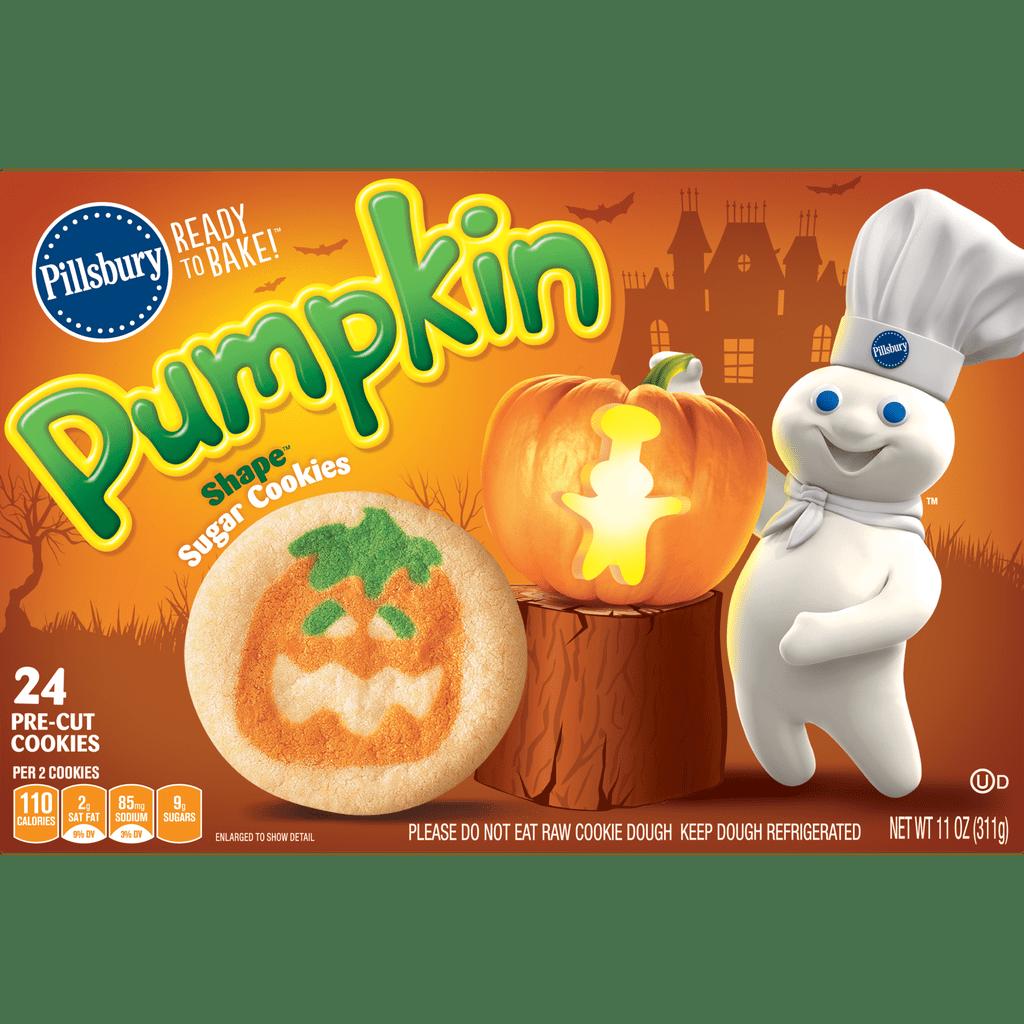 Pillsbury Shape Pumpkin Sugar Cookies