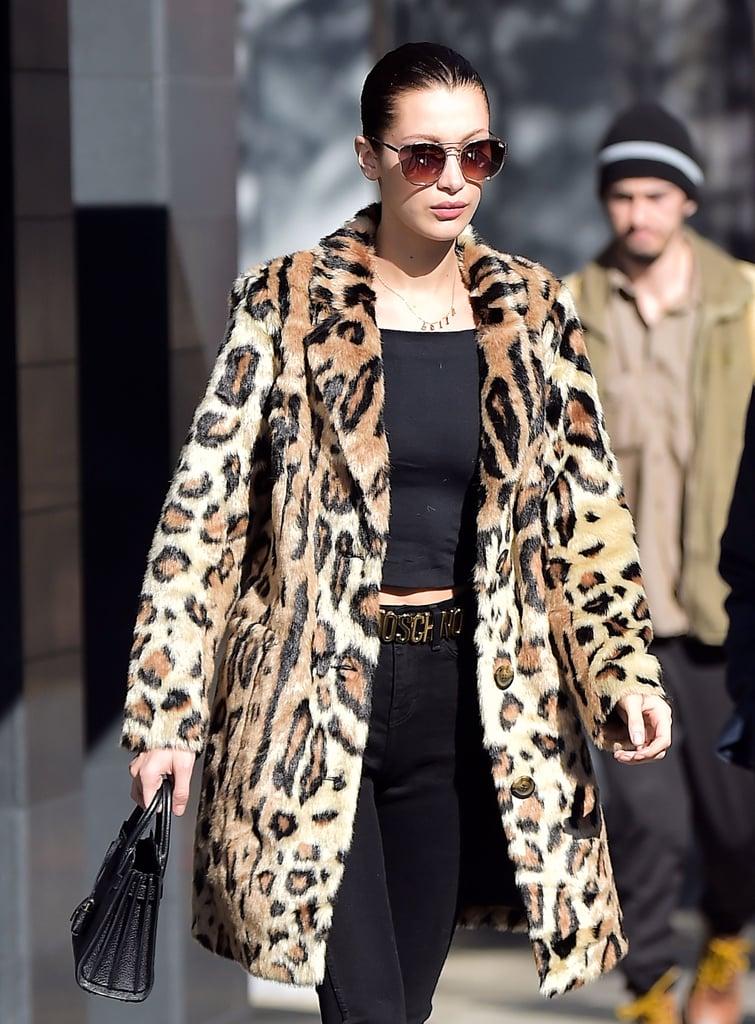 Bella Hadid Coats | POPSUGAR Fashion