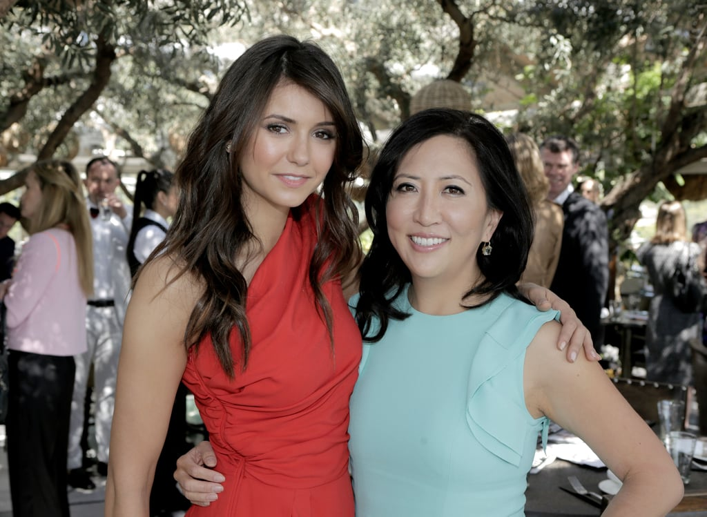Nina Dobrev teamed up with The Hollywood Reporter editor Janice Min on Wednesday at the 25 Most Powerful Stylists Luncheon in LA.