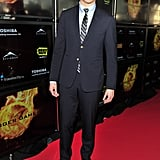 Alexander Ludwig at the Hunger Games premiere in Canada.