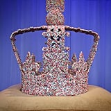 A Diamond Jubilee crown designed by Mulberry was displayed at Harrods in London.