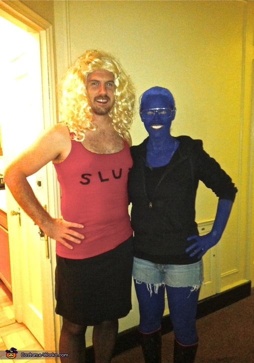 Halloween Costumes For Couples Funny.Funny Costume Ideas For Couples Popsugar Love Sex