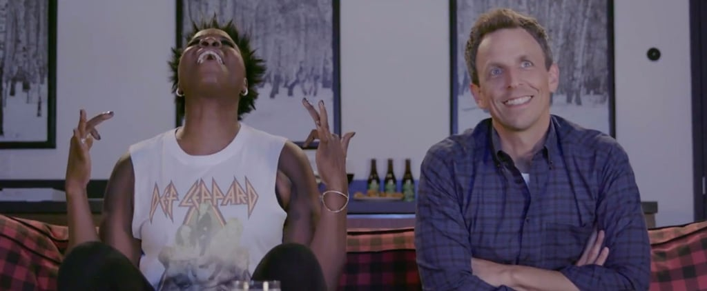 Seth Meyers and Leslie Jones Game of Jones Video 2017