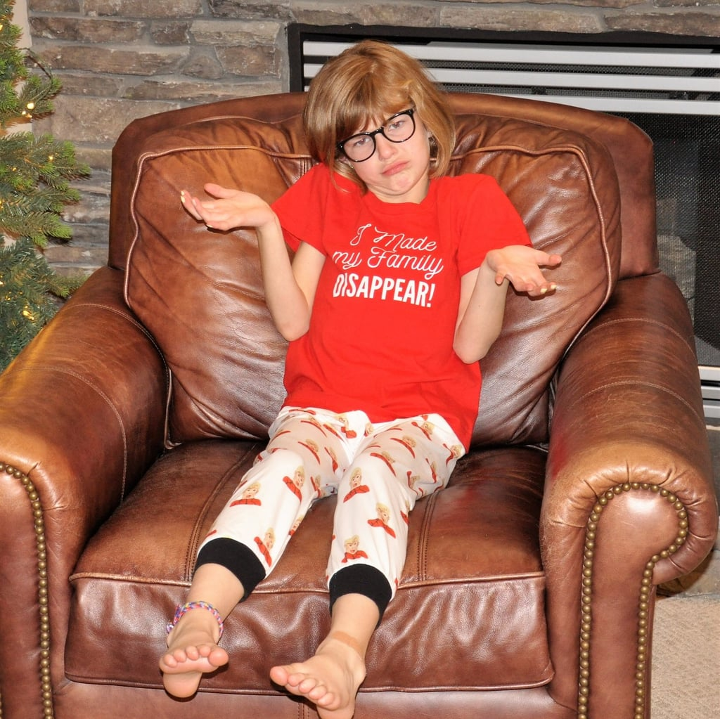 """Home Alone """"I Made My Family Disappear!"""" Kid-Size Matching Family Pajamas"""