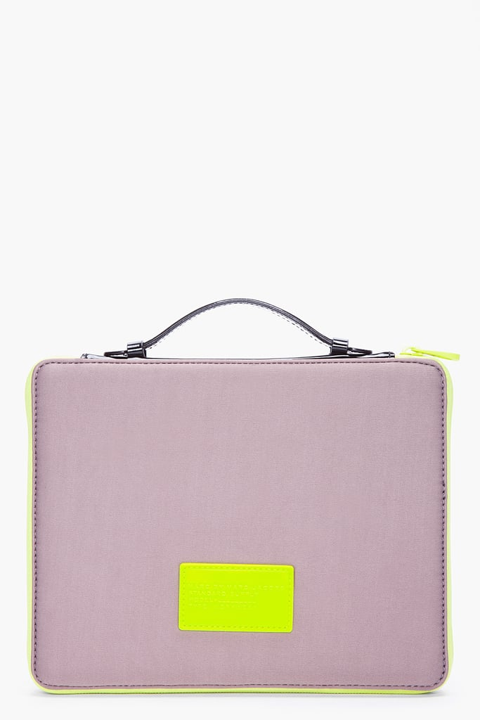 Marc by Marc Jacobs Gray Padded Tablet Case ($100)