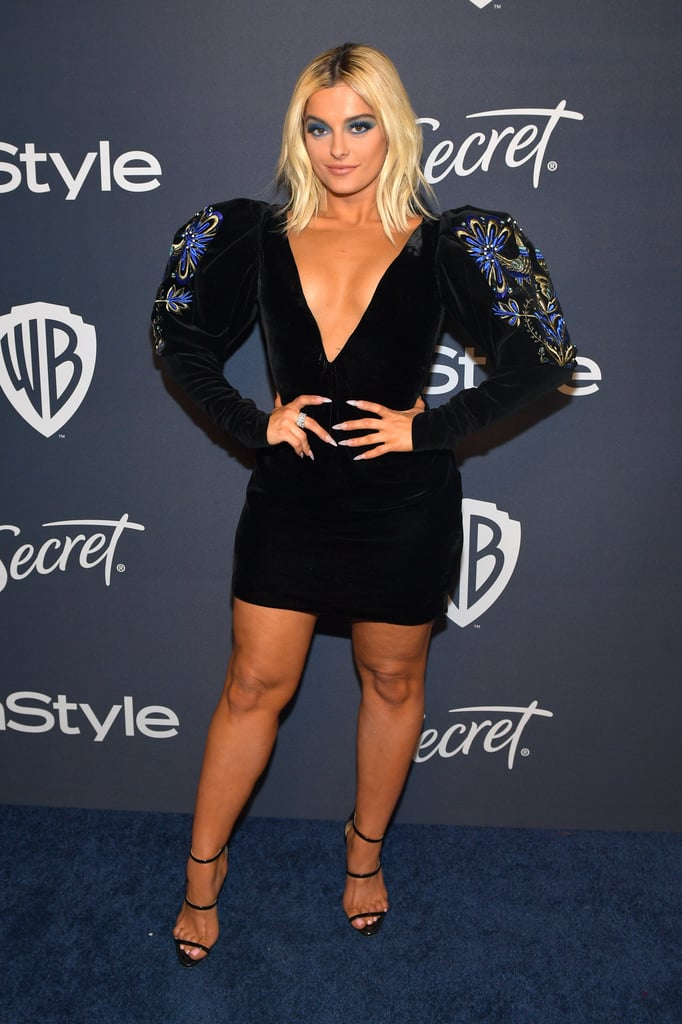 Bebe Rexha at the 2020 Golden Globes Afterparty