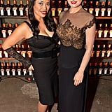 Dita Von Teese and Rommelyn Fisher