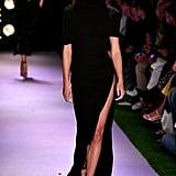 Grace Elizabeth on the Brandon Maxwell Runway at New York Fashion Week