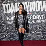 Shanina Shaik at the Tommy Hilfiger x Zendaya New York Fashion Week Show