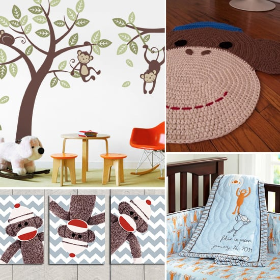 Quit Monkeyin' Around! Fun Finds For Your Jungle of a Nursery