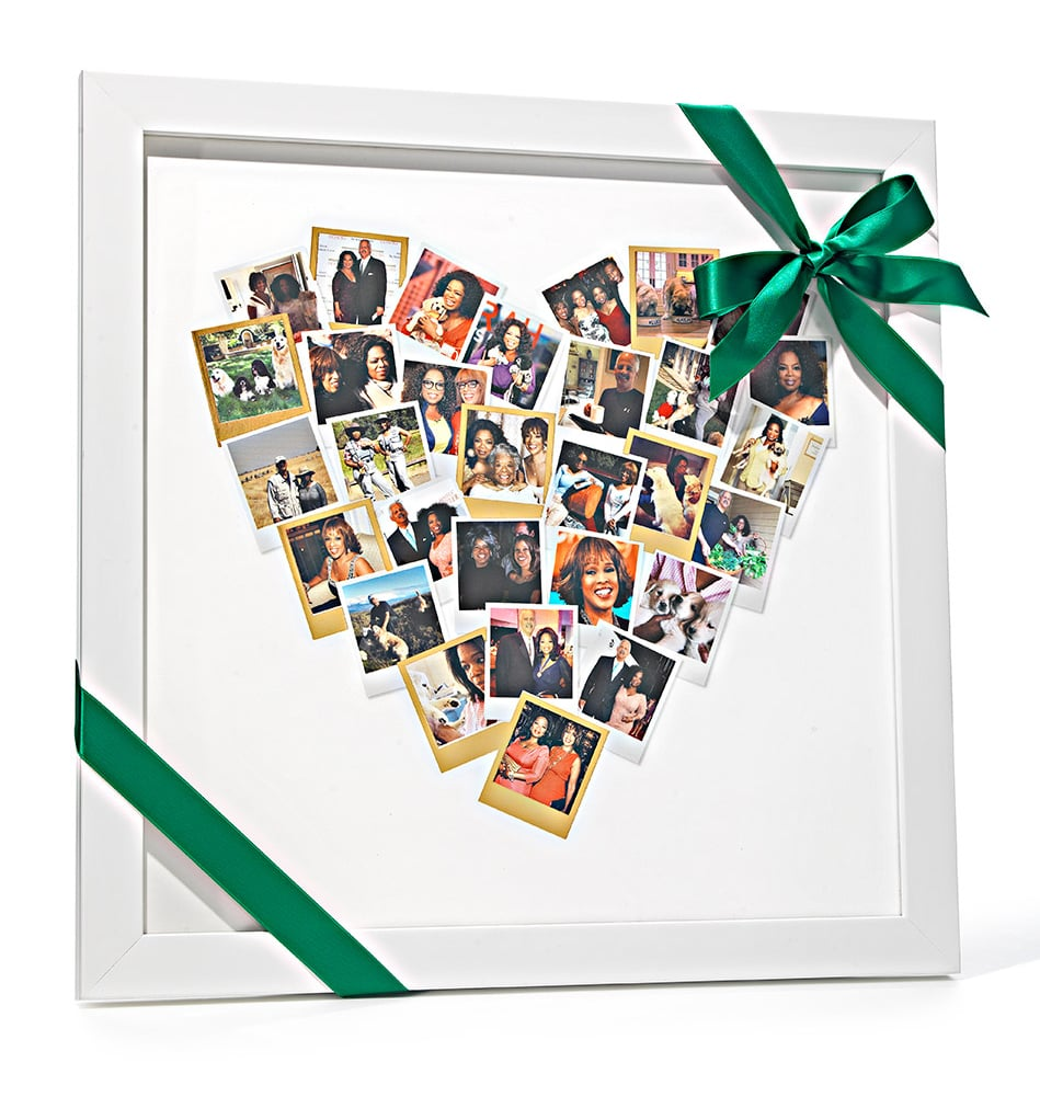 Heart Snapshot Photo Frame