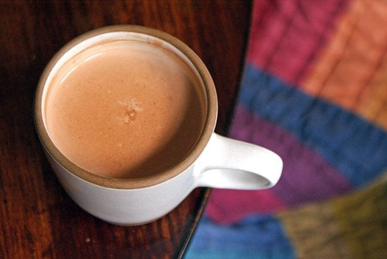 Hot Chocolate With Coconut Milk